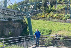 """Enric Barbier: """"el transporte por cable es el más seguro del mundo"""""""