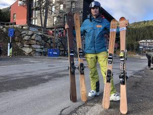 Hemos probado los esquís de la nueva marca Liken Skis