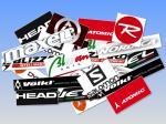 Sciare collage marcas ski