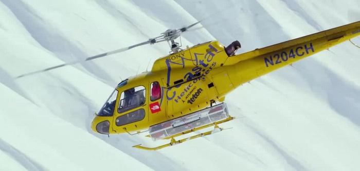 Helicóptero de Teton Gravity Research