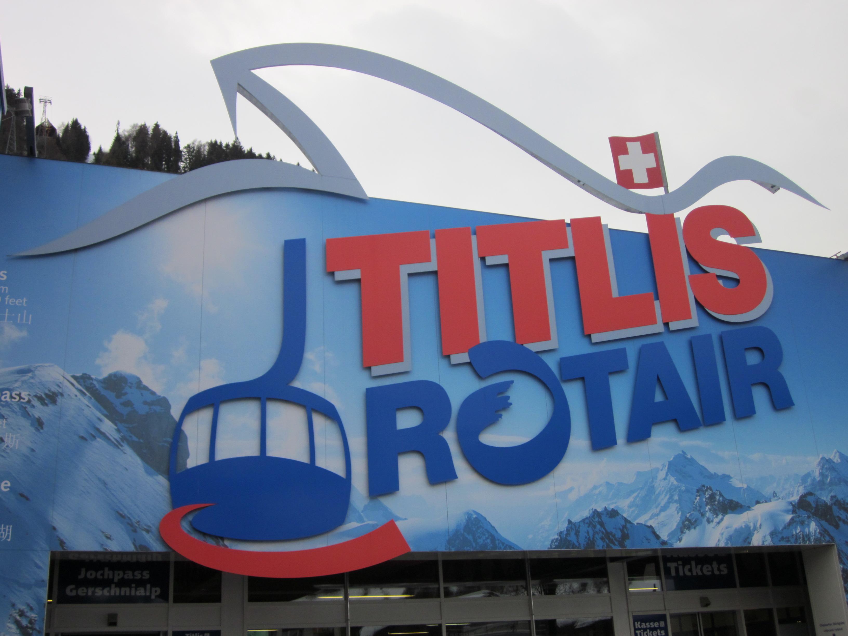 titlis rotair logo