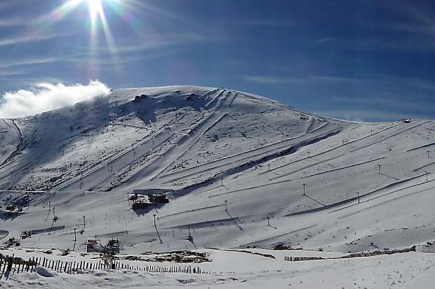 El Cerro de Valdemartín es la zona más alta de Valdesquí
