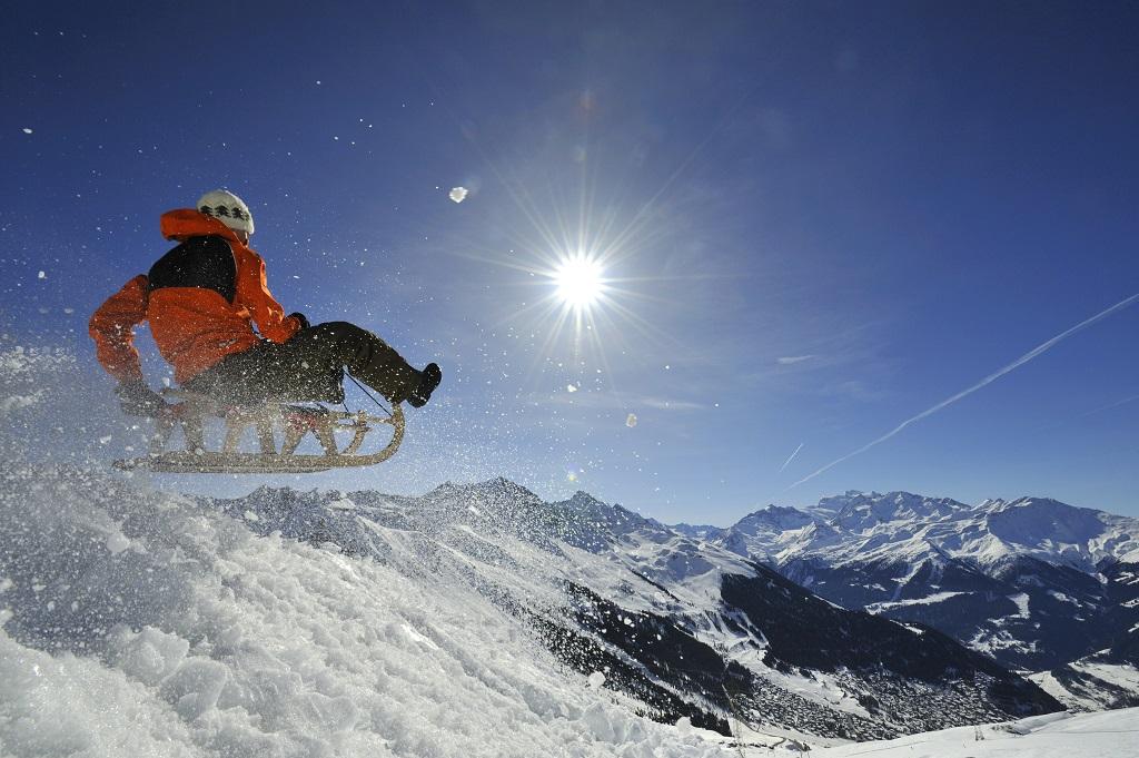 Verbier forma parte del dominio esquiable de los 4 Valles