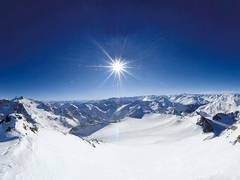 Teleférico y glaciar de Stubai