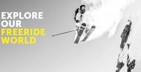 Gama freeride de la colección esquís  Voelkl 2019