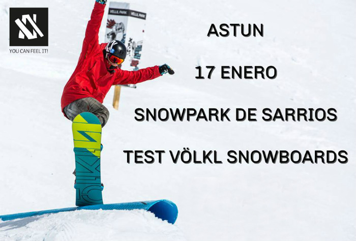 Völkl Test On Tour estará en Astún el día del World Snow Day