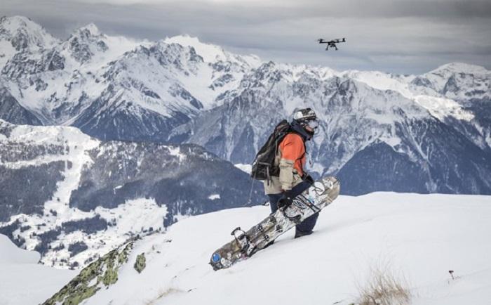 El rider Xavier de le Rue utiliza los drones para dar espectacularidad a sus películas