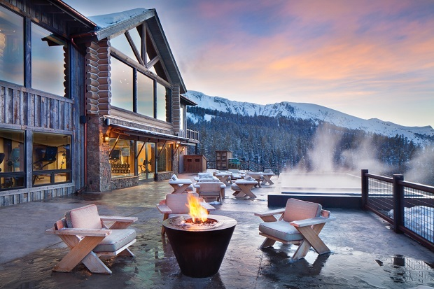 Rainbow Lodge, uno de las exclusivas residencias de Yelowstone Ski Club