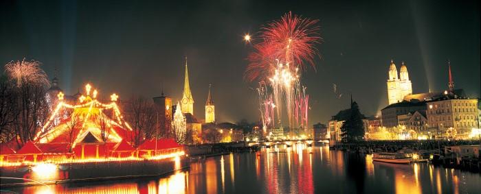 Fin de año en Zurich. Foto: C. Sonderegger Copyright by Switzerland Tourism